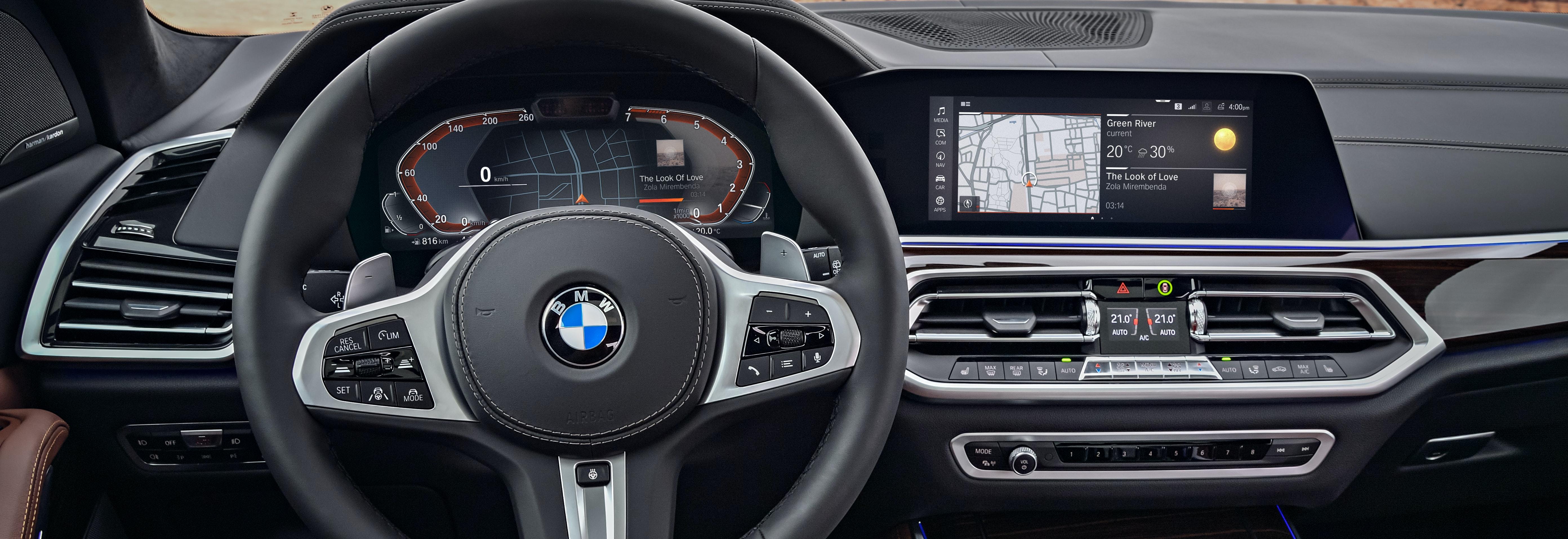 2018 Bmw X5 Interior Digital Dials
