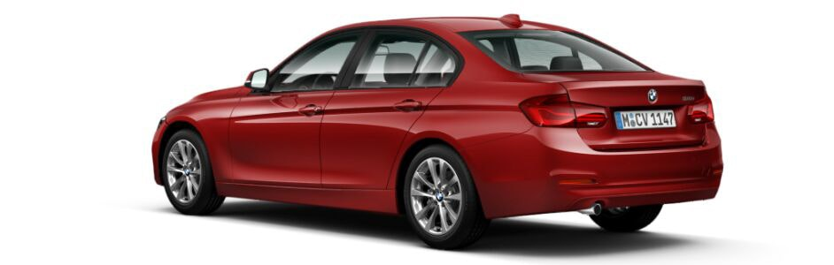Melbourne Red Metallic BMW 3 Series