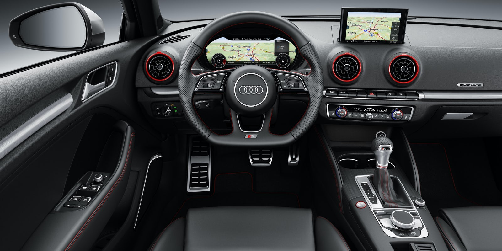 2013 audi a3 interior. Black Bedroom Furniture Sets. Home Design Ideas