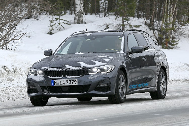 2019 Bmw 3 Series Touring Spotted Testing Carwow