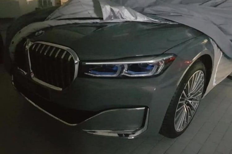 2019 Bmw 7 Series Facelift Pic Leaks Online Carwow