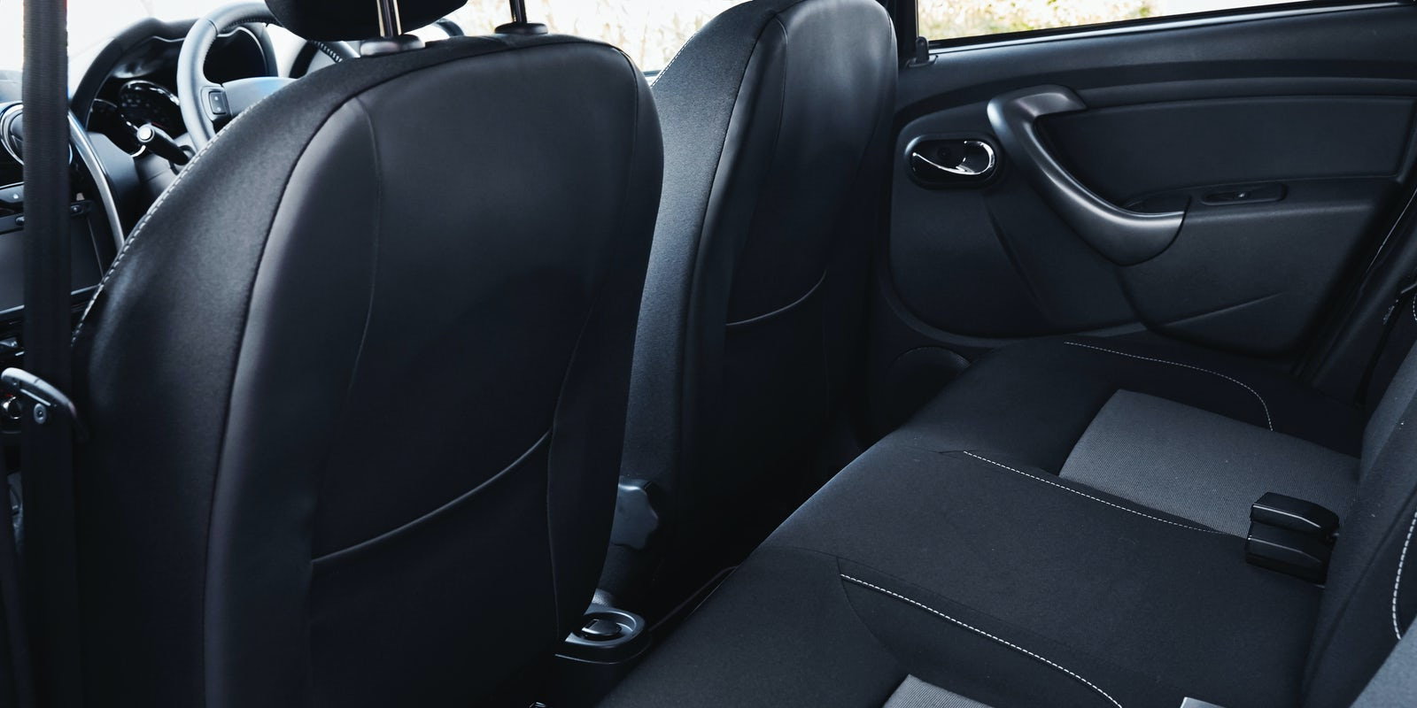 Dacia Duster interior and infotainment   carwow