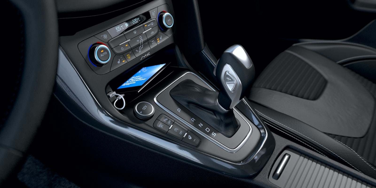 ford focus interior and infotainment carwow. Black Bedroom Furniture Sets. Home Design Ideas