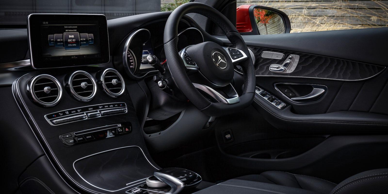 Mercedes GLC Coupe Interior & Infotainment