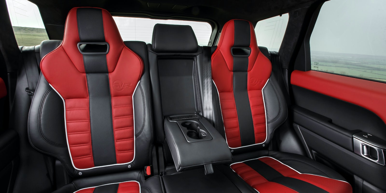 Land Rover Range Sport Svr Boot Space Dimensions Carwow Interior