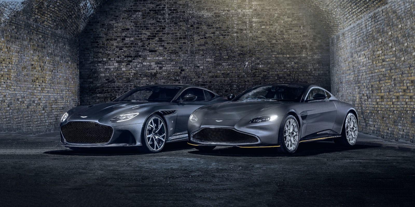 007 Edition Aston Martin V8 Vantage And Dbs Superleggera Revealed Carwow