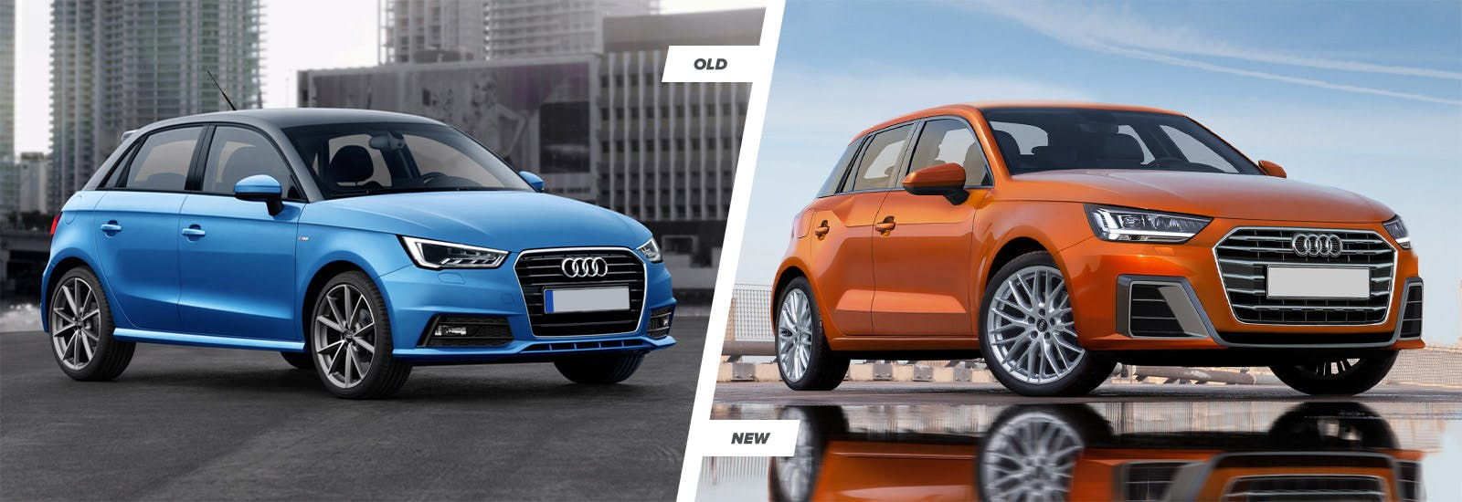 The new a1 should feature a squarer rear end and flatter roofline than the old car especially in five door sportback guise while the q2 s funky