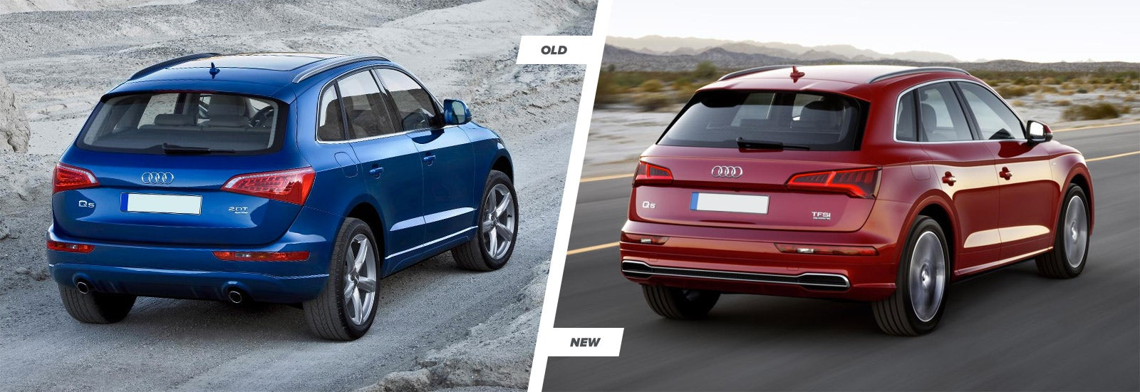 Audi Q SUV New Vs Old Compared Carwow - Audi q5 models