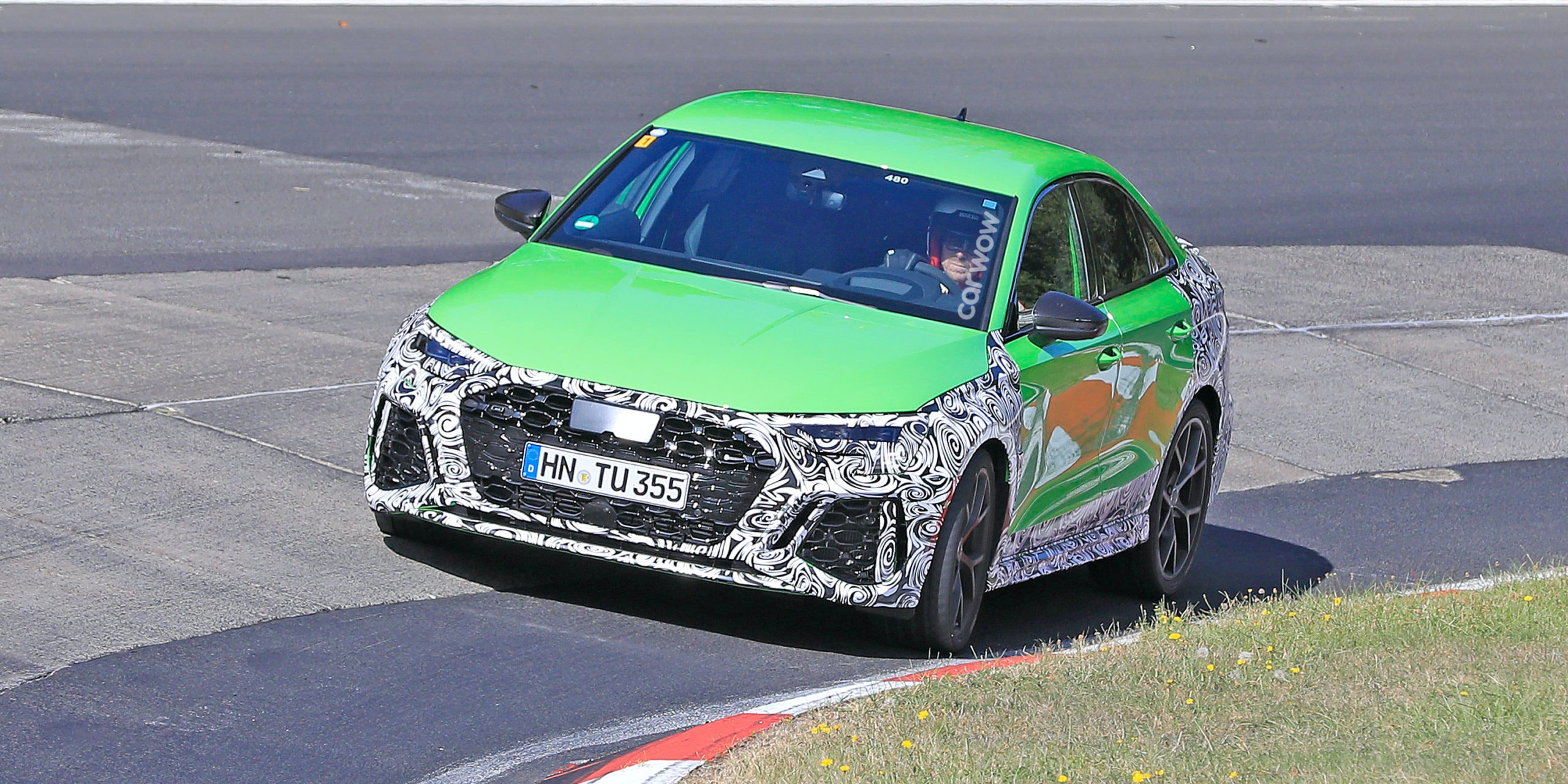New Audi Rs3 Saloon Spotted Price Specs And Release Date Carwow