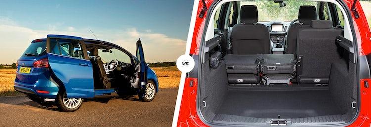 Ford B-Max vs C-Max - Trunk - GoodAutoDeals
