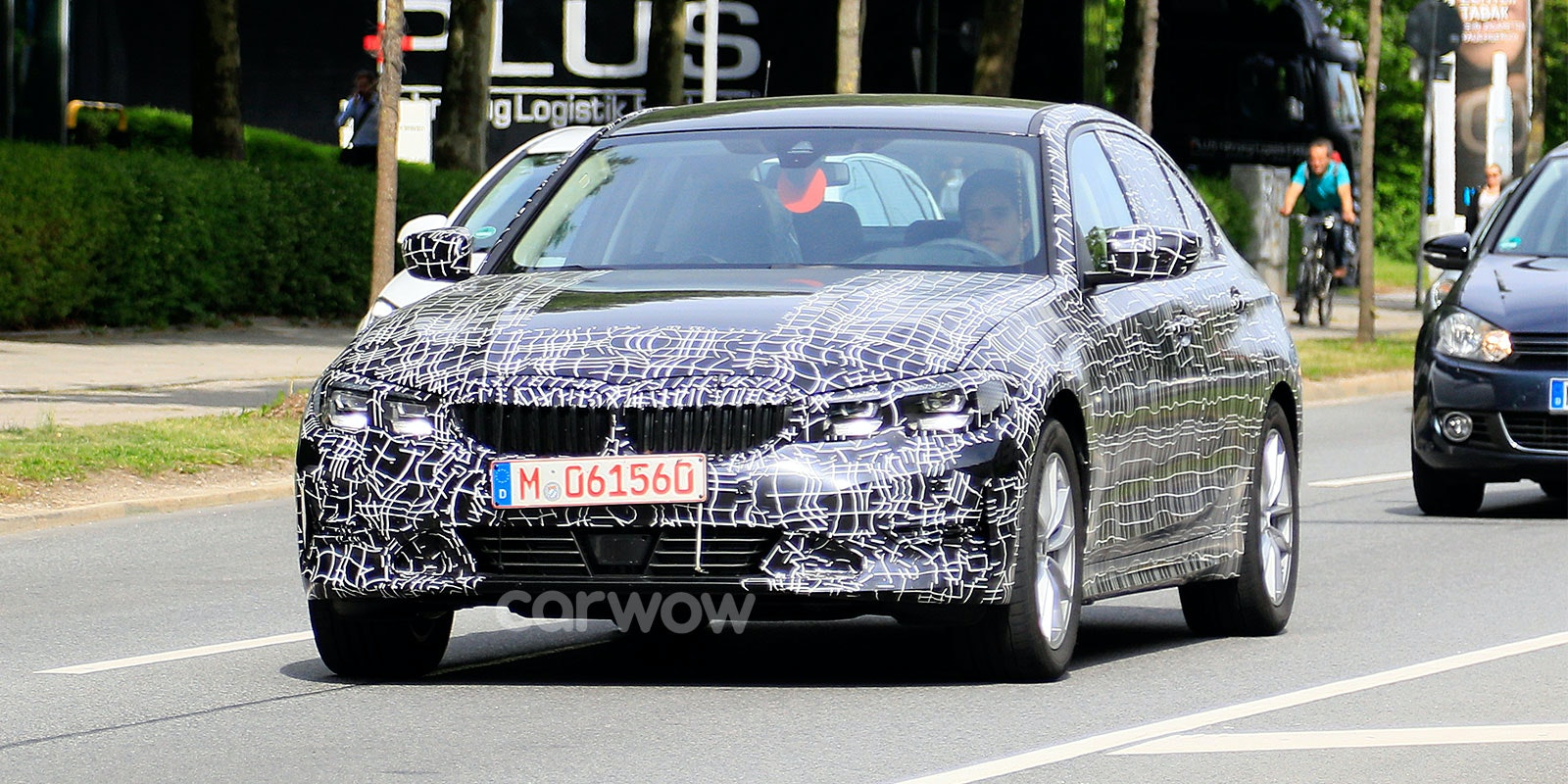 Bmw 3 series prototype spyshots driving front lead 1.jpg?ixlib=rb 1.1