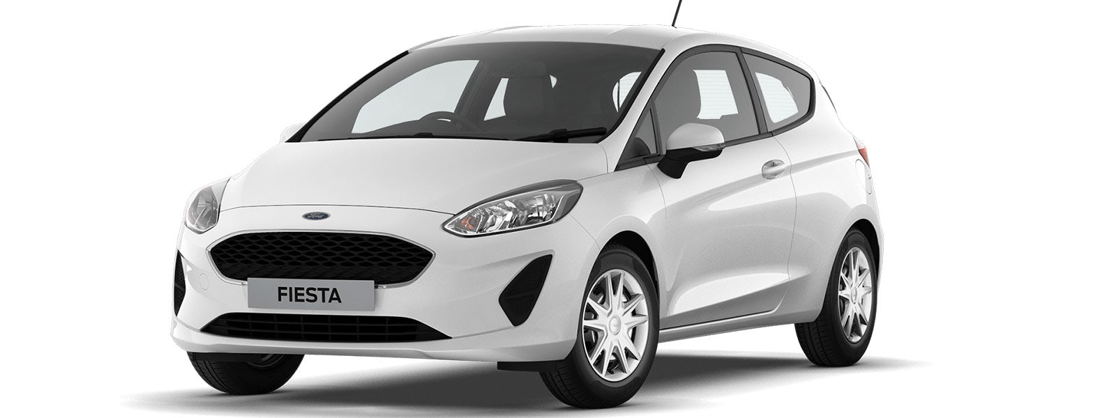 2017 ford fiesta colours guide and prices carwow frozen white 250 sciox Choice Image