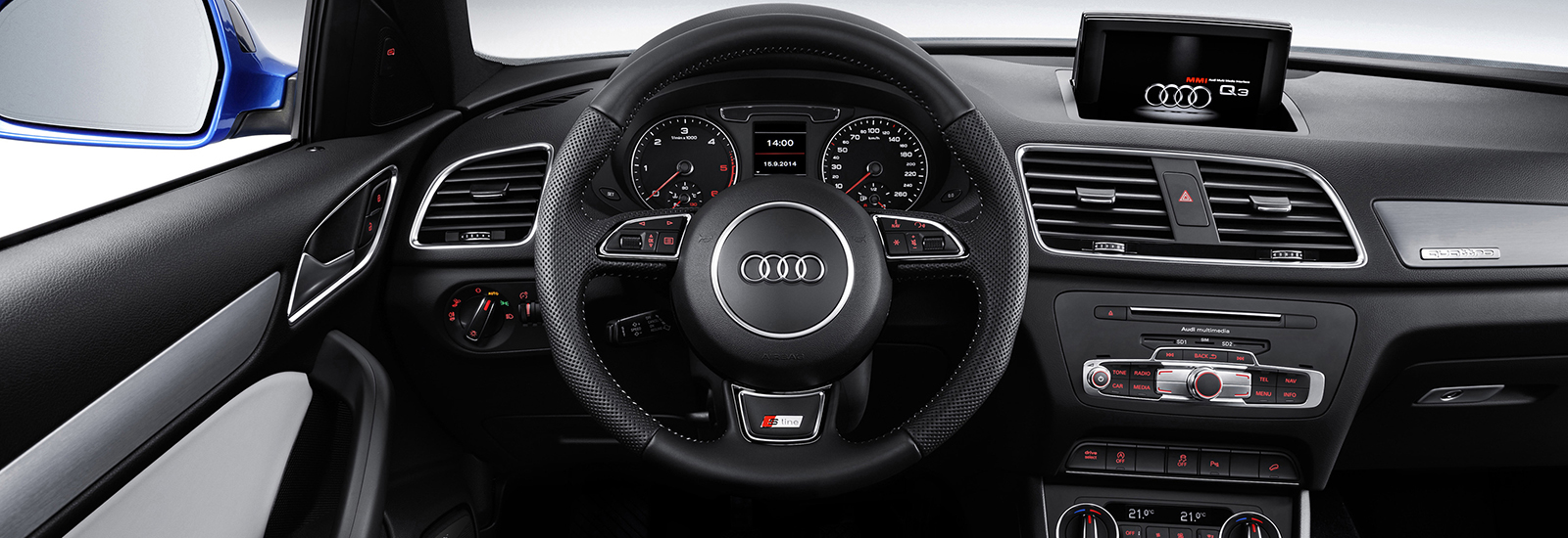 2018 audi q3 interior.  interior the upcoming audi q3 will have a more modern interior than the current  modelu0027s shown here for 2018 audi q3 e