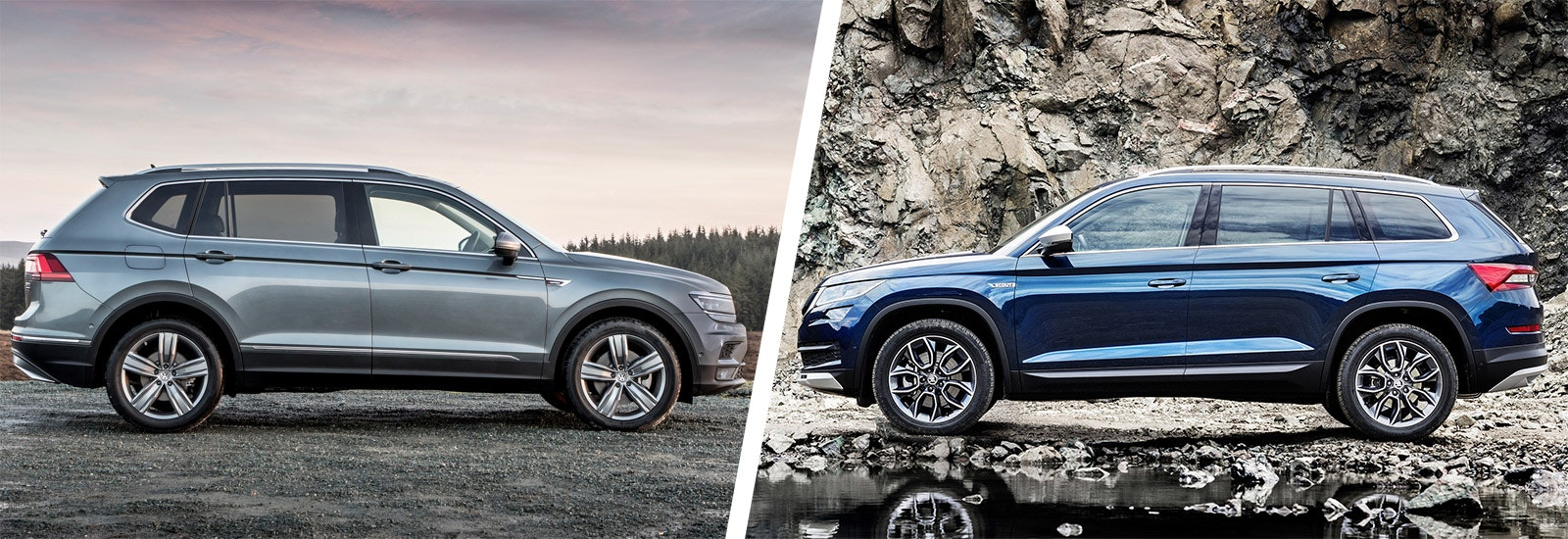 Discovery Sport Land Rover >> VW Tiguan Allspace vs Skoda Kodiaq – which is best? | carwow