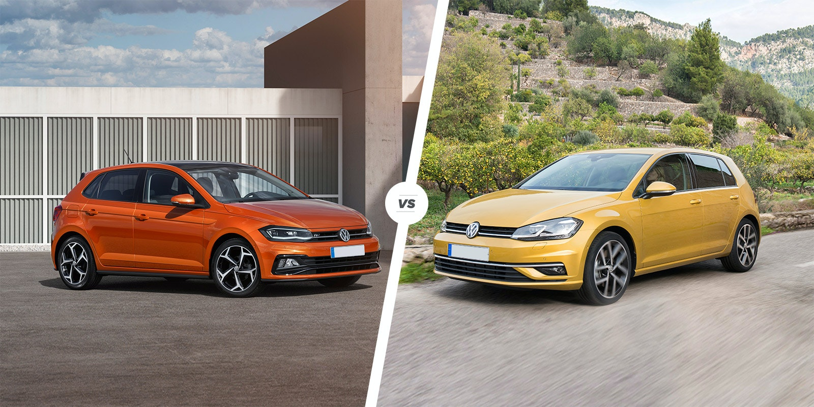Carwow vw polo vs vw golf lead.jpg?ixlib=rb 1.1