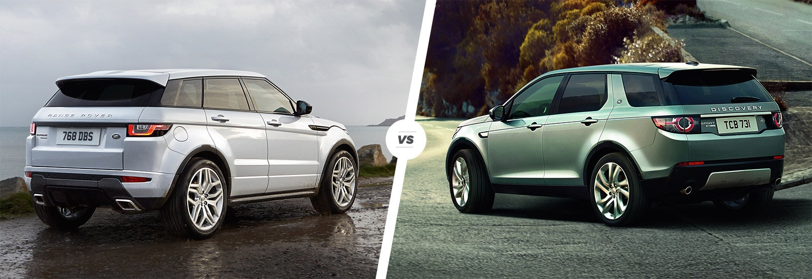 Range Rover Evoque Vs Land Rover Discovery Sport Carwow