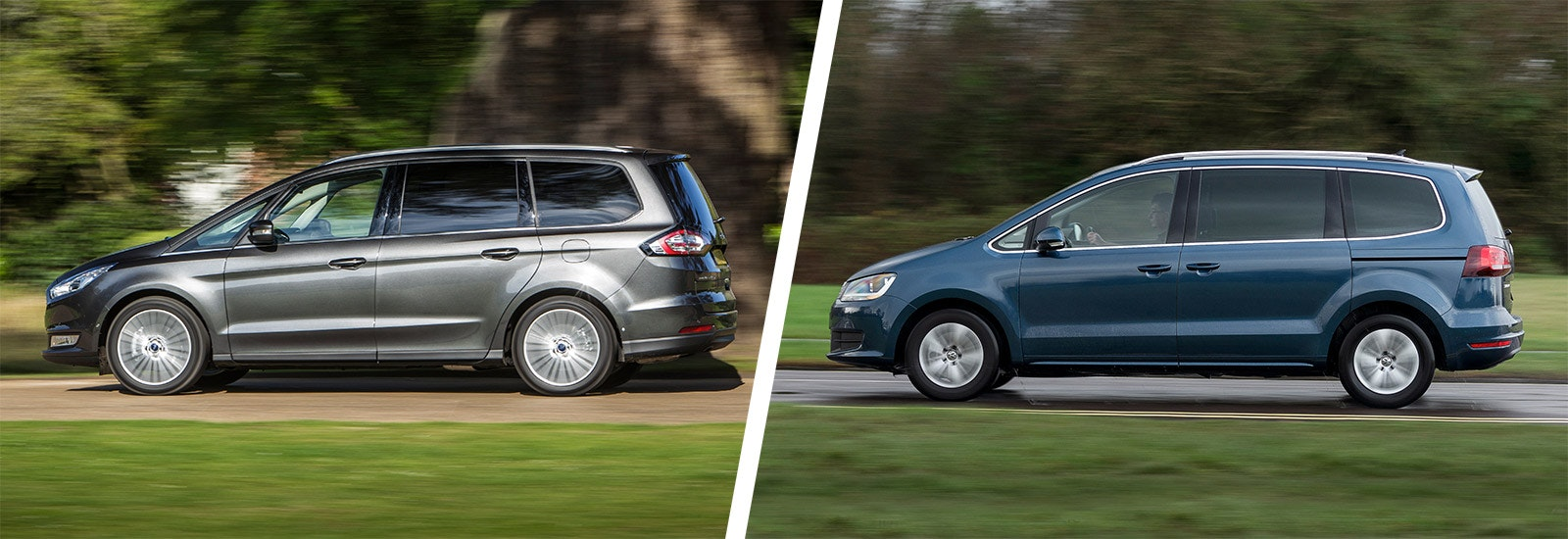 vw sharan and ford galaxy