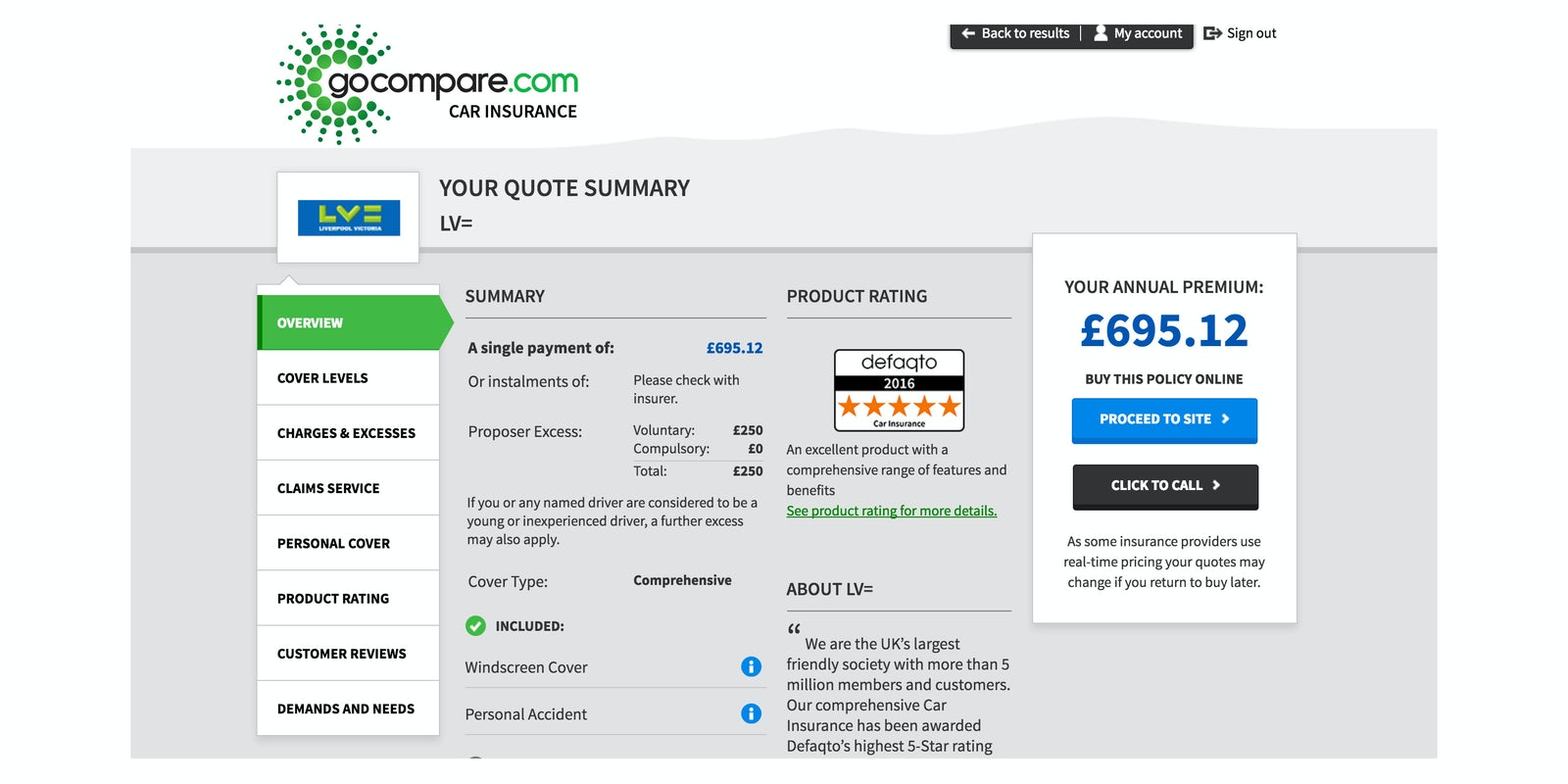 Go Compare Car Insurance Retrieve Quotes 44billionlater