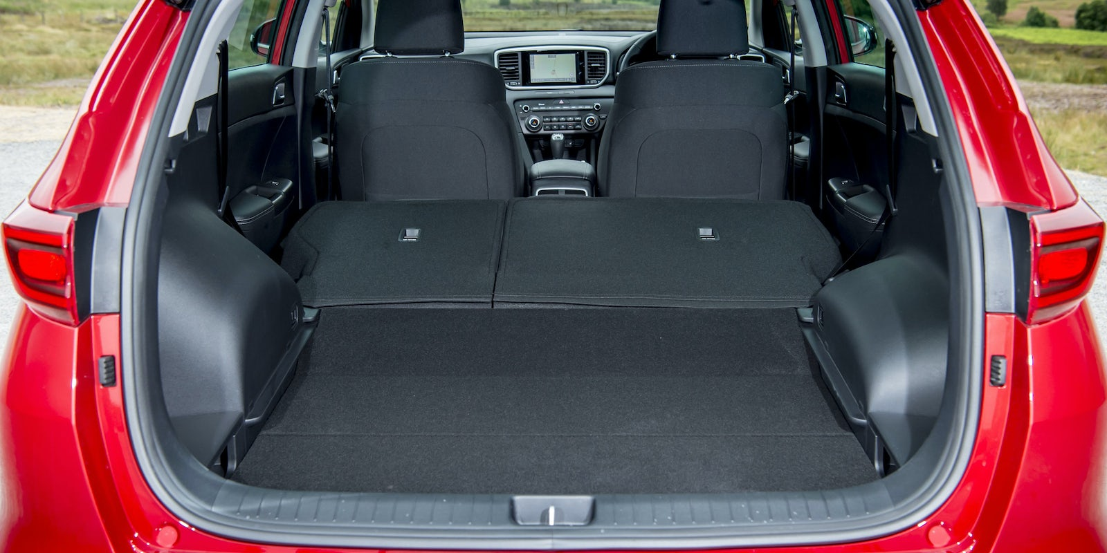 Kia Sportage Boot Space Amp Dimensions Carwow