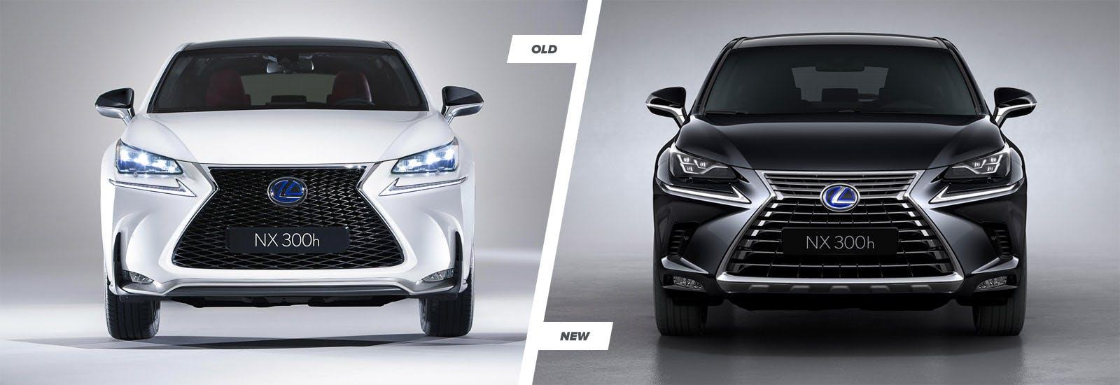 2018 Lexus Nx Facelift Styling