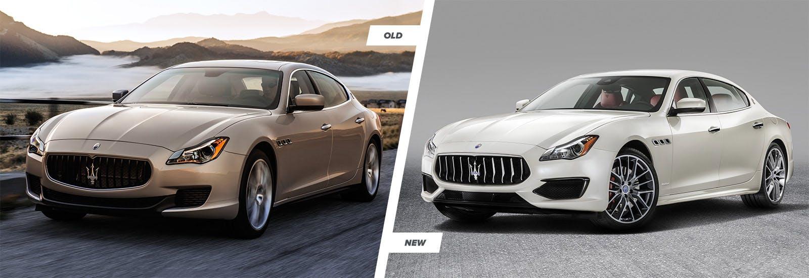 Maserati Quattroporte facelift: old vs new   carwow