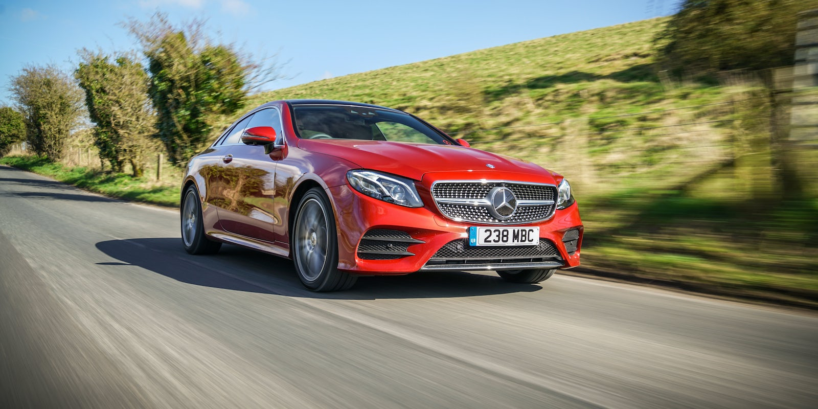 New Mercedes E Class Coupe Review Carwow