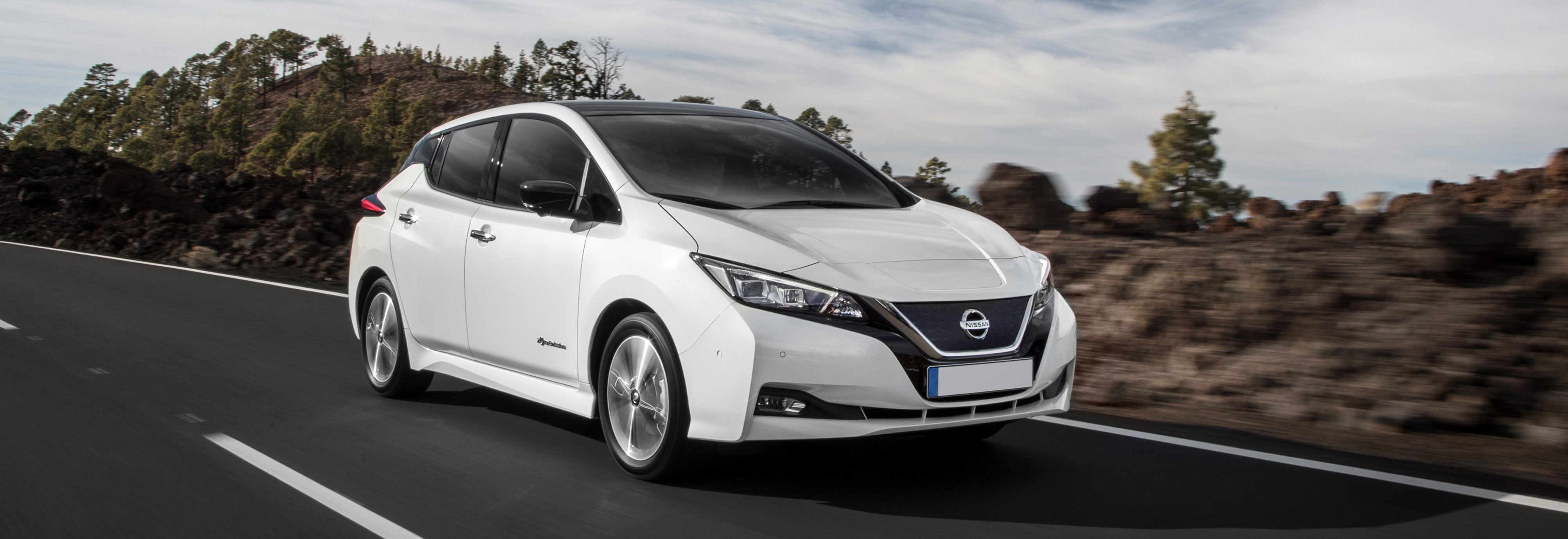 electric car motor for sale. 2018 Nissan Leaf White Driving Front Electric Car Motor For Sale