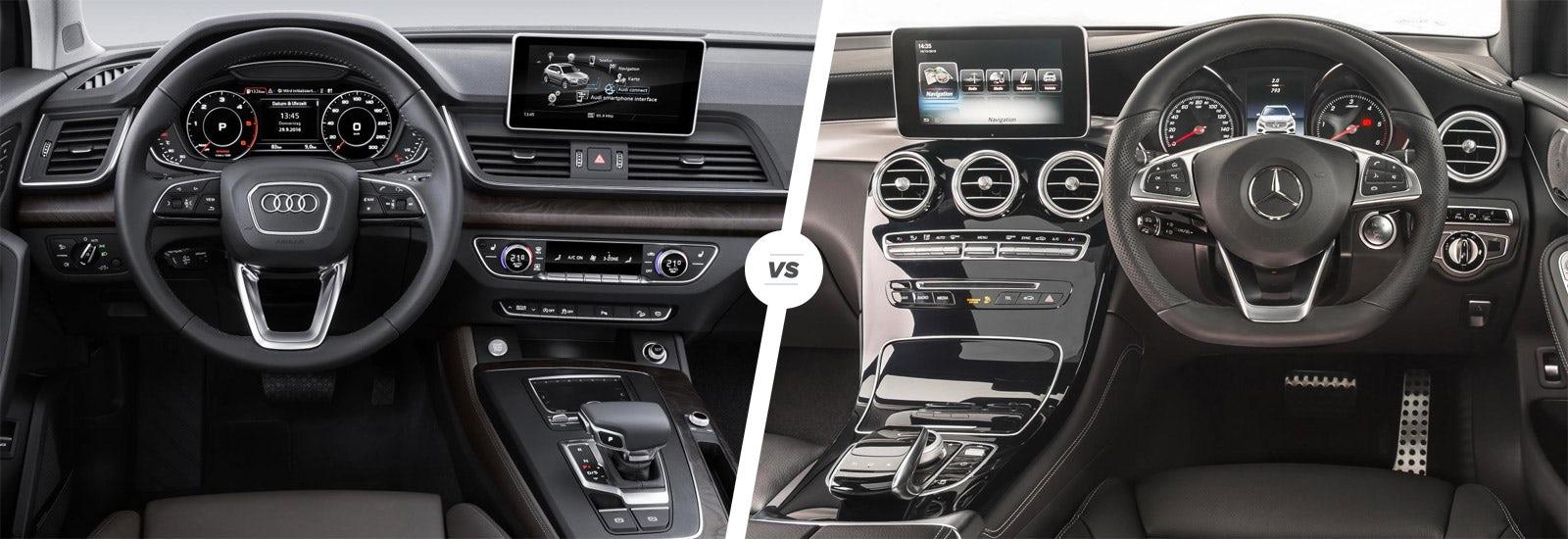 Audi Q5 Vs Mercedes Glc Interior