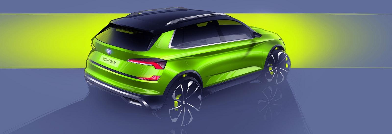 2018 Skoda Fabia SUV Vision X price & release date