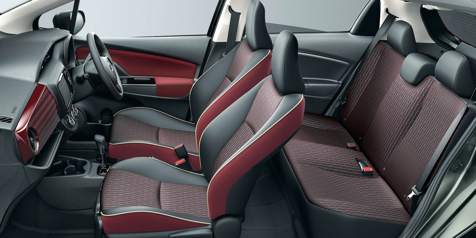 toyota yaris 2017 interior. Black Bedroom Furniture Sets. Home Design Ideas