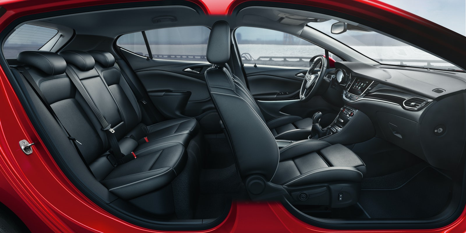 vauxhall astra interior and infotainment carwow. Black Bedroom Furniture Sets. Home Design Ideas